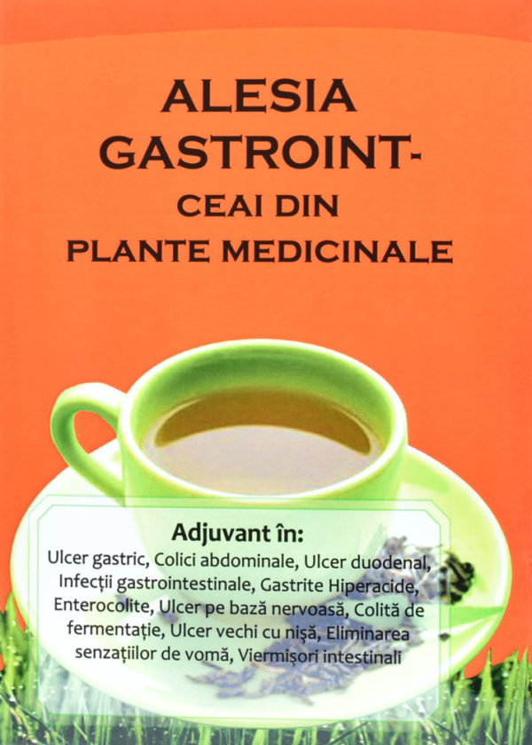 Ceai Gastroint 250 g din plante medicinale