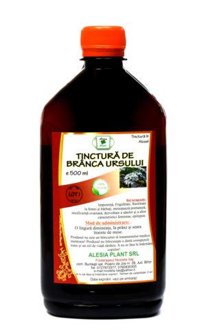 Remediu Naturist Tinctura de Branca Ursului, 500 ml